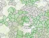 Carte couverture FTTH ATHD Auvergne Trés Haut Débit - Fibre optique BeeIP